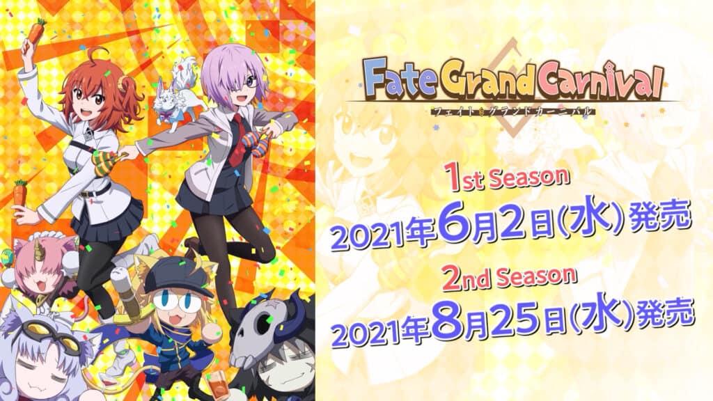 Fate/Grand Carnival Two-part OVA